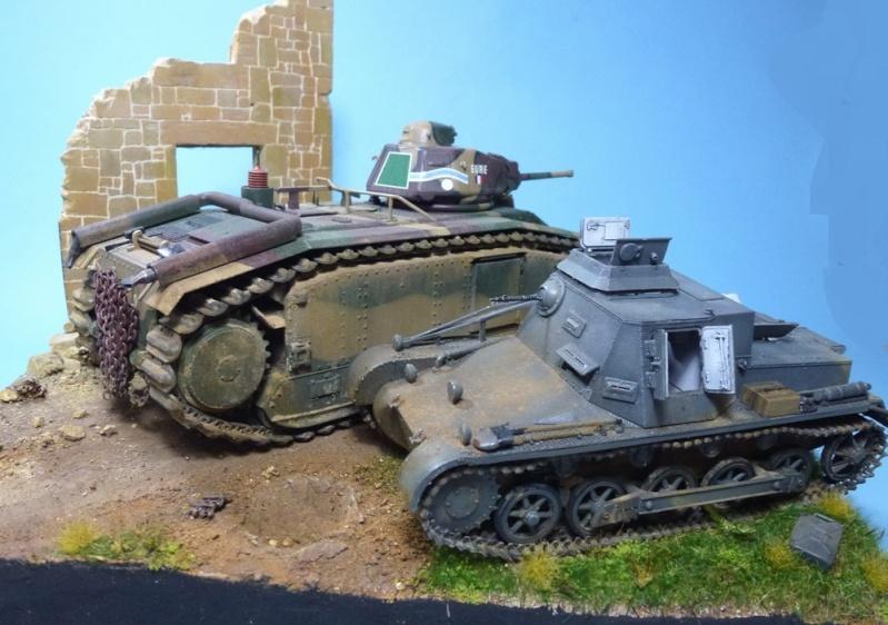 "Stonne 16 mai 1940 - B1bis ""Eure"" du 41 BCC 15h110"