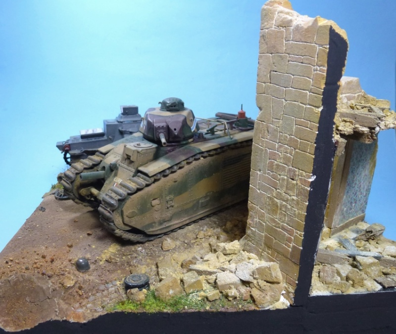 "Stonne 16 mai 1940 - B1bis ""Eure"" du 41 BCC 21h110"