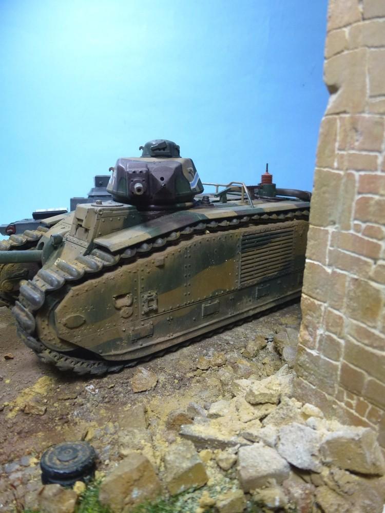 "Stonne 16 mai 1940 - B1bis ""Eure"" du 41 BCC 21h210"