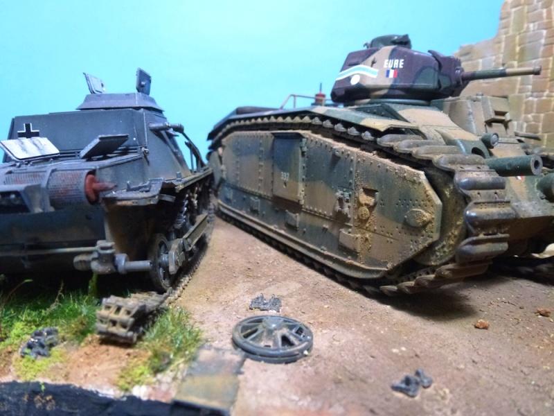 "Stonne 16 mai 1940 - B1bis ""Eure"" du 41 BCC Chenil11"