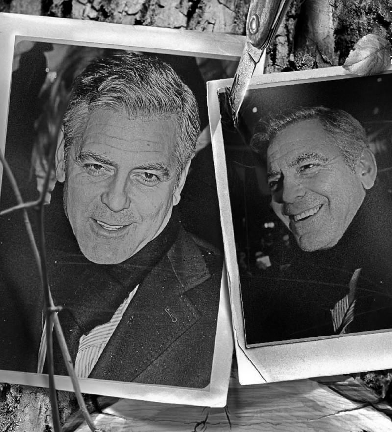 George Clooney George Clooney George Clooney! Img_0417