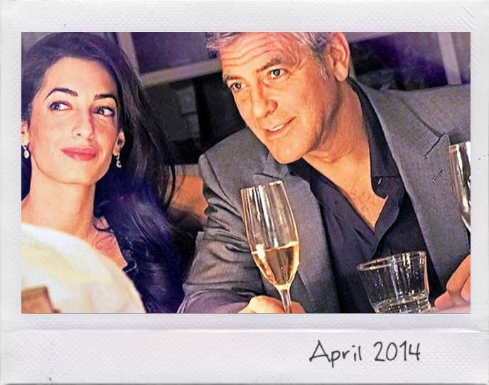 Photos: George Clooney with Amal Alamuddin Img_0727