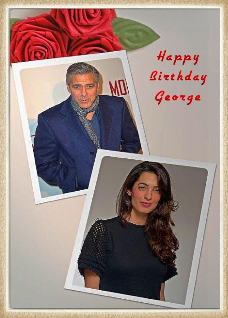 Photos: George Clooney with Amal Alamuddin Img_0918