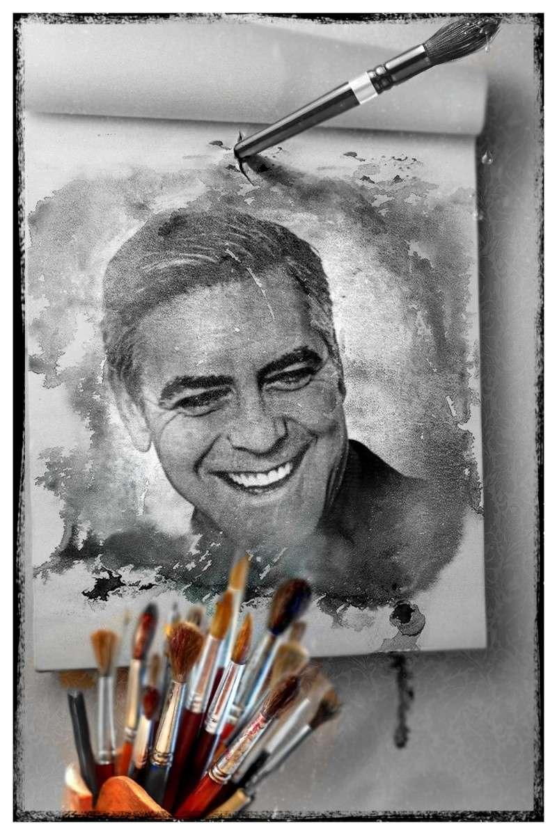 George Clooney George Clooney George Clooney! Img_1421