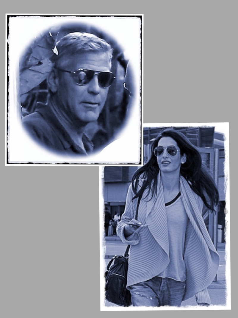 Photos: George Clooney with Amal Alamuddin Img_1518