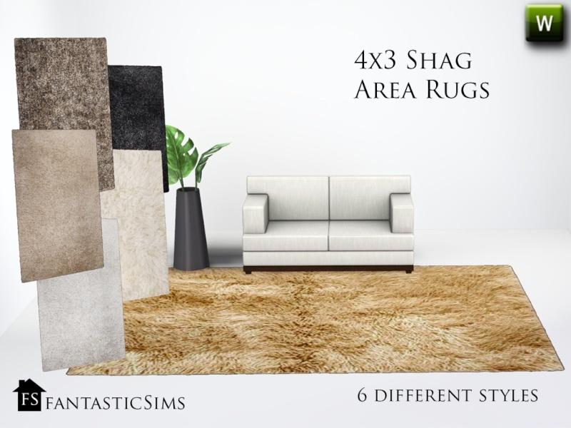 FS 4x3 Shag Rugs Fs_4x310