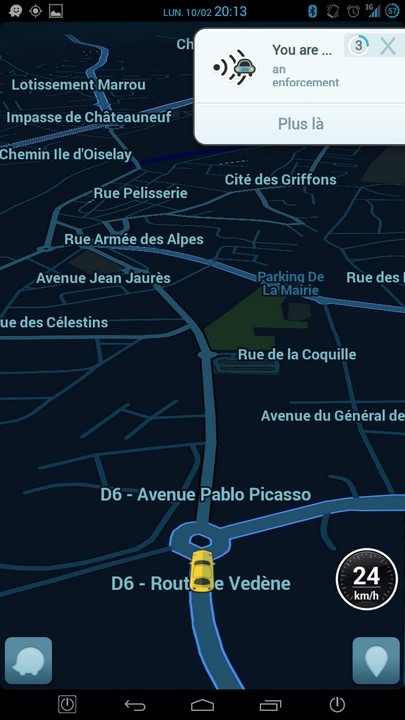 [APP] Waze : GPS communautaire sous Android [Gratuit] - Page 5 Screen10