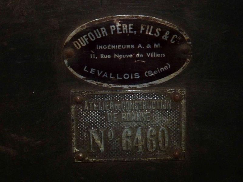 Fraiseuse Dufour Père & Fils  Plaque10