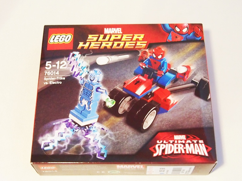 Review of 76014 Spider-Trike Vs Electro 111