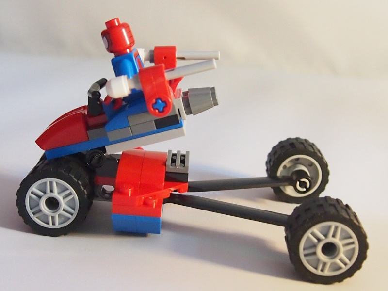 Review of 76014 Spider-Trike Vs Electro 1310