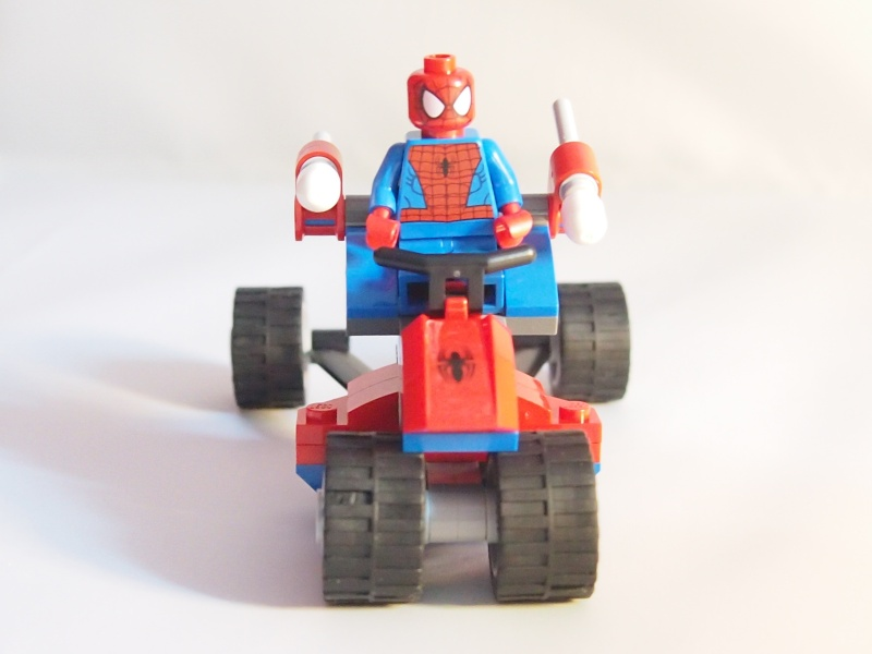 Review of 76014 Spider-Trike Vs Electro 1410