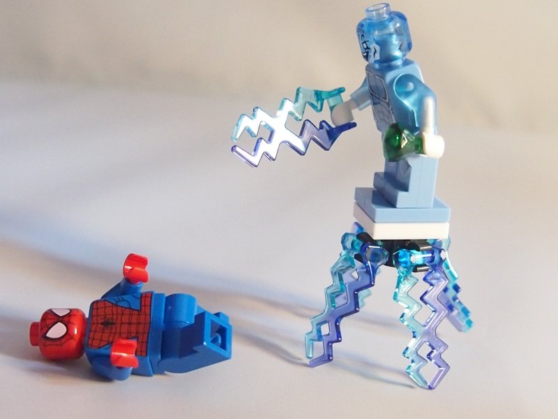 Review of 76014 Spider-Trike Vs Electro 1610