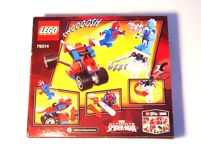Review of 76014 Spider-Trike Vs Electro 211