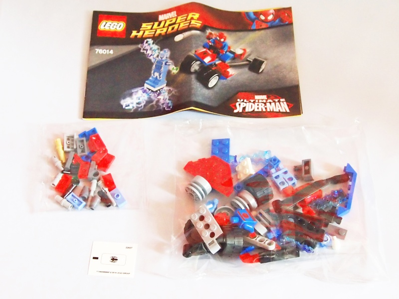 Review of 76014 Spider-Trike Vs Electro 410