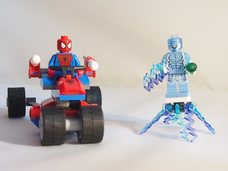 Review of 76014 Spider-Trike Vs Electro 910