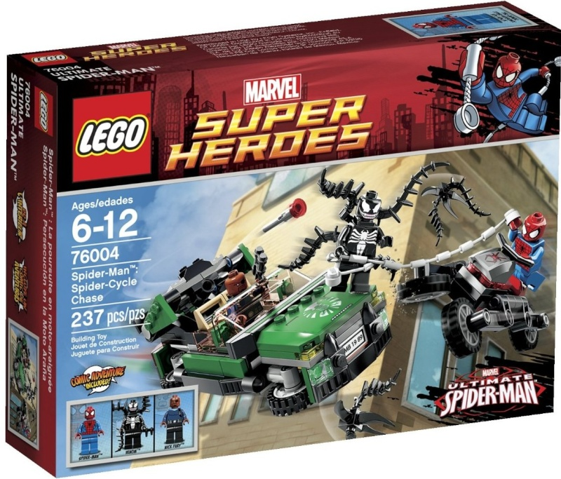 Review of 76014 Spider-Trike Vs Electro Lego-710