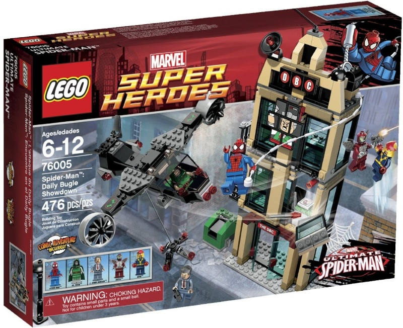 Review of 76014 Spider-Trike Vs Electro Lego-s10