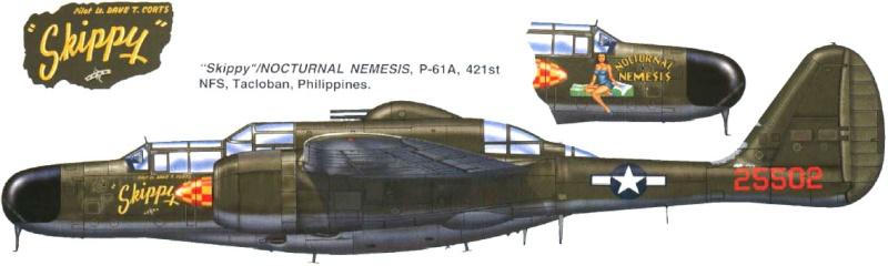 P-61  BLACK WIDOW / HOBBY BOSS 1/32 ( diorama ) 3_2110