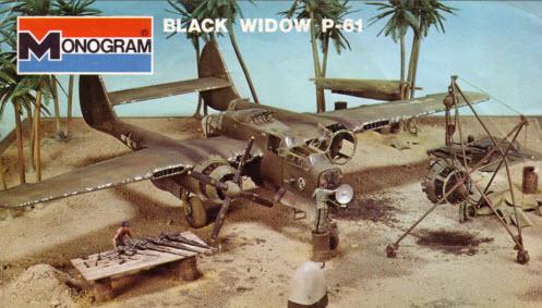 P-61  BLACK WIDOW / HOBBY BOSS 1/32 ( diorama ) Dioram10