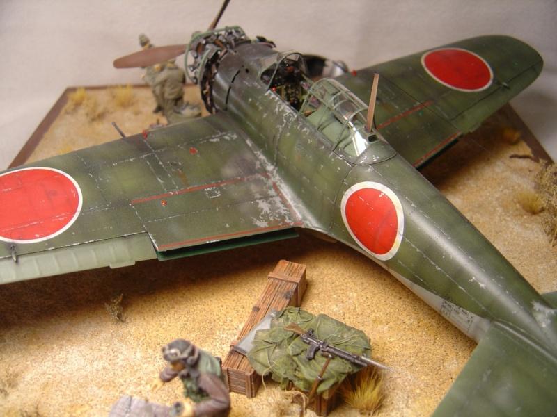 diorama 1/32 Mitsubishi A6M5 Zero tamiya Dsc04510