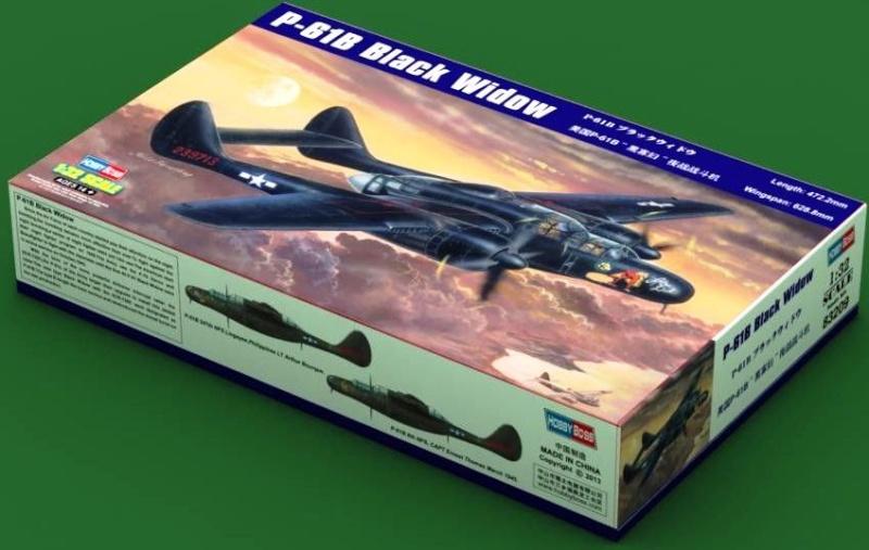 P-61  BLACK WIDOW / HOBBY BOSS 1/32 ( diorama ) Hobby-10