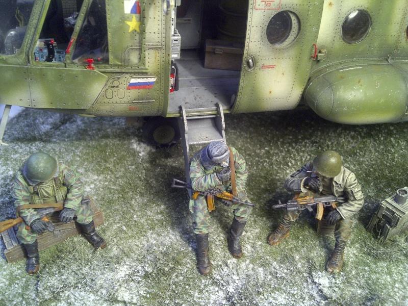 diorama hélicoptère MIL MI 8 Saint-21