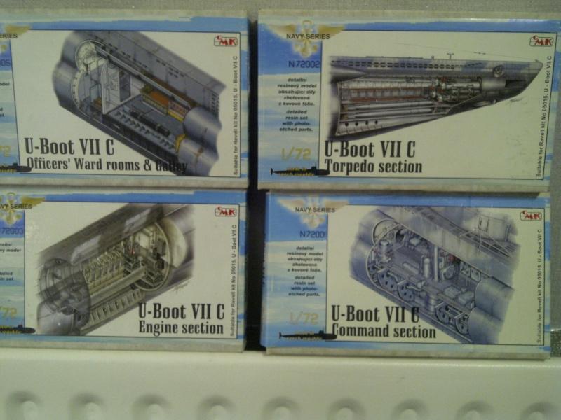U-BOOT type VII C  revell 1/72 Saint124