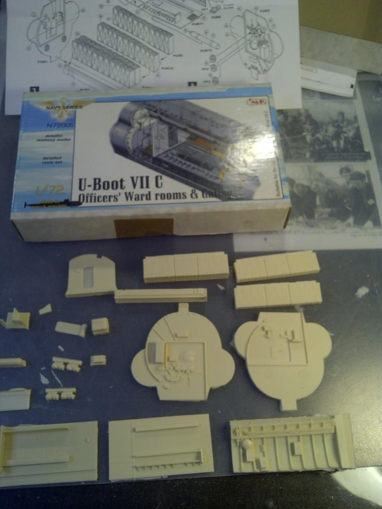 U-BOOT type VII C  revell 1/72 Saint125