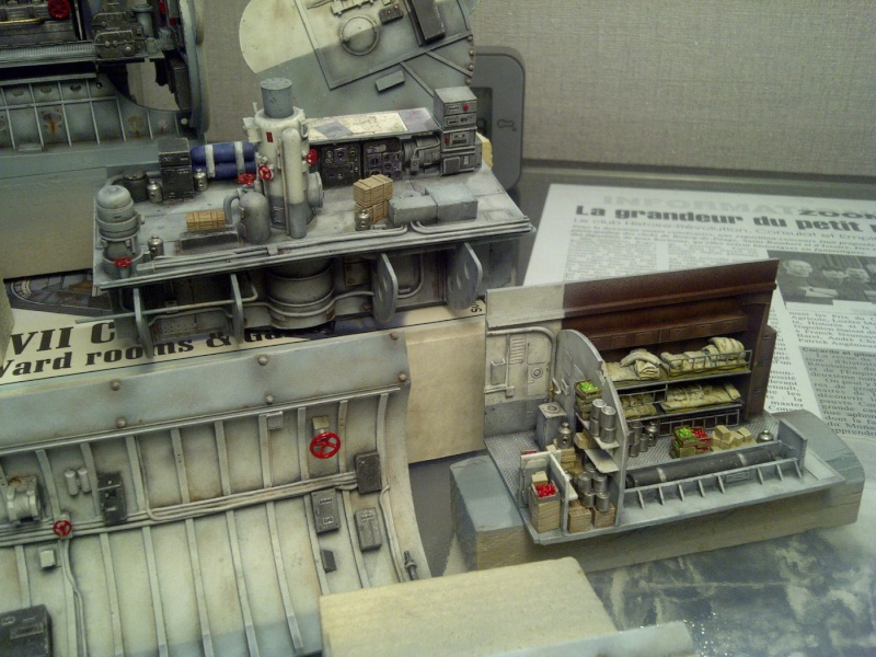 U-BOOT type VII C  revell 1/72 Saint150