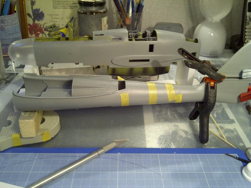 P-61  BLACK WIDOW / HOBBY BOSS 1/32 ( diorama ) Saint199