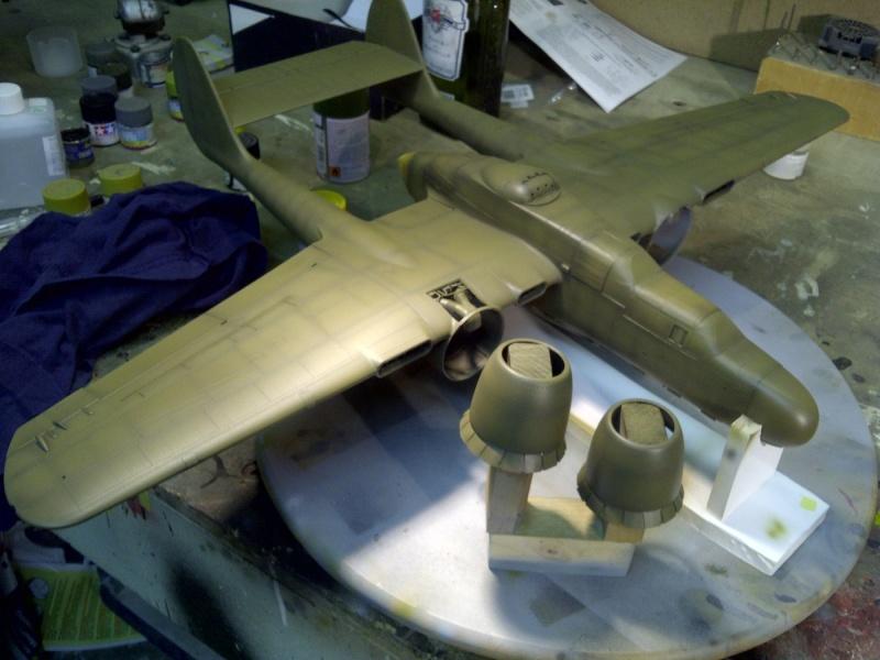 P-61  BLACK WIDOW / HOBBY BOSS 1/32 ( diorama ) Saint214