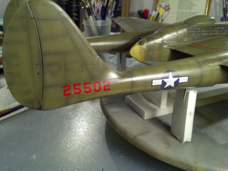 P-61  BLACK WIDOW / HOBBY BOSS 1/32 ( diorama ) Saint219