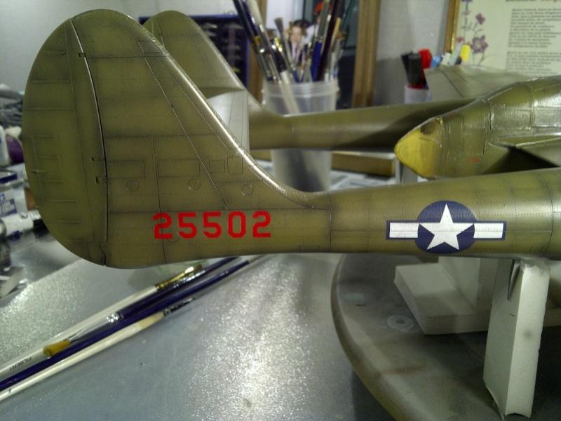 P-61  BLACK WIDOW / HOBBY BOSS 1/32 ( diorama ) Saint223