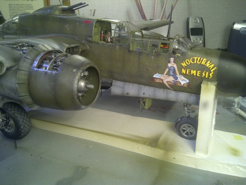 P-61  BLACK WIDOW / HOBBY BOSS 1/32 ( diorama ) - Page 2 Saint229