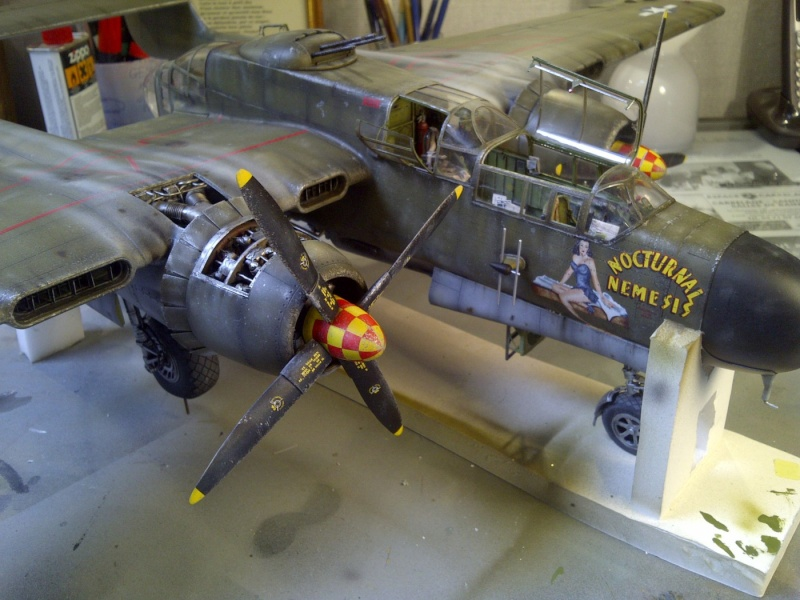 P-61  BLACK WIDOW / HOBBY BOSS 1/32 ( diorama ) - Page 2 Saint231