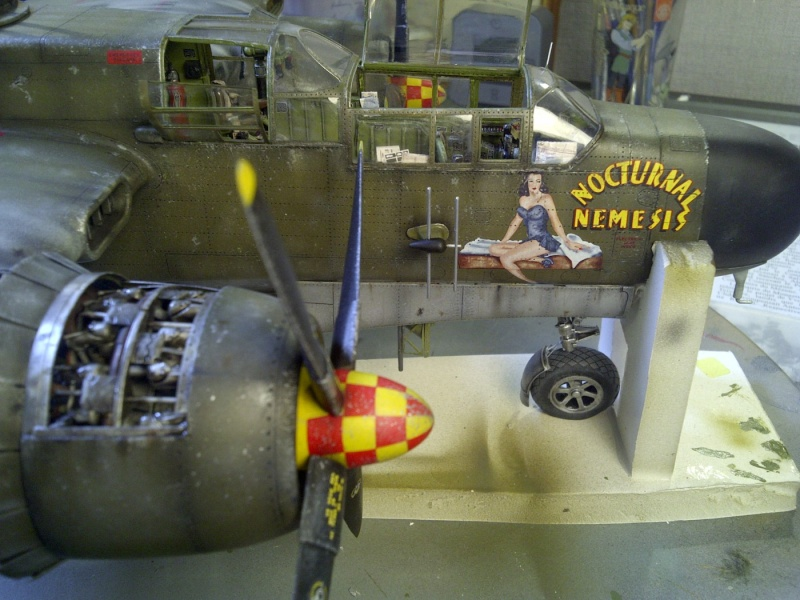 P-61  BLACK WIDOW / HOBBY BOSS 1/32 ( diorama ) - Page 2 Saint233