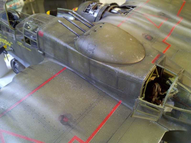P-61  BLACK WIDOW / HOBBY BOSS 1/32 ( diorama ) - Page 2 Saint234