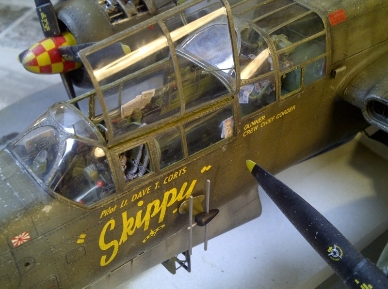 P-61  BLACK WIDOW / HOBBY BOSS 1/32 ( diorama ) - Page 2 Saint235
