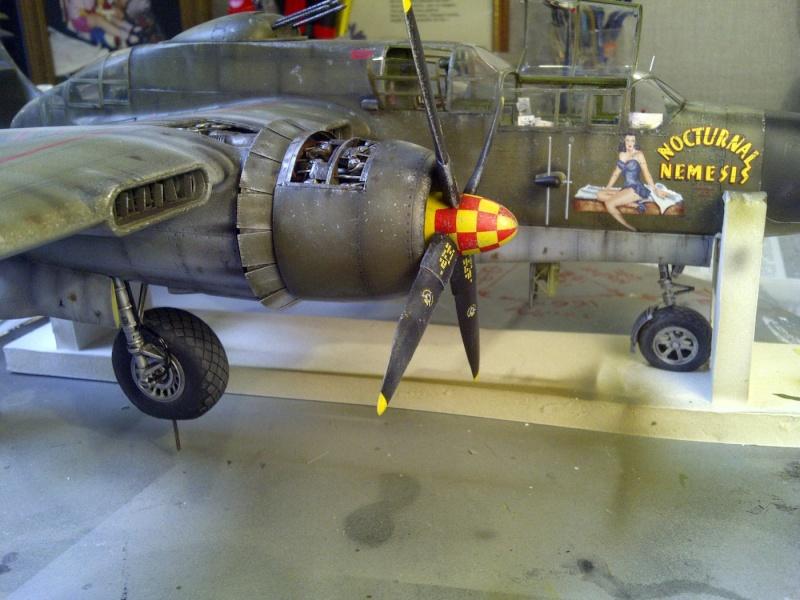 P-61  BLACK WIDOW / HOBBY BOSS 1/32 ( diorama ) - Page 2 Saint238
