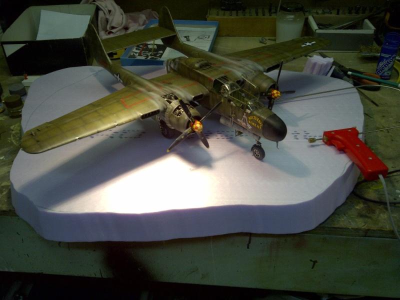 P-61  BLACK WIDOW / HOBBY BOSS 1/32 ( diorama ) - Page 2 Saint246
