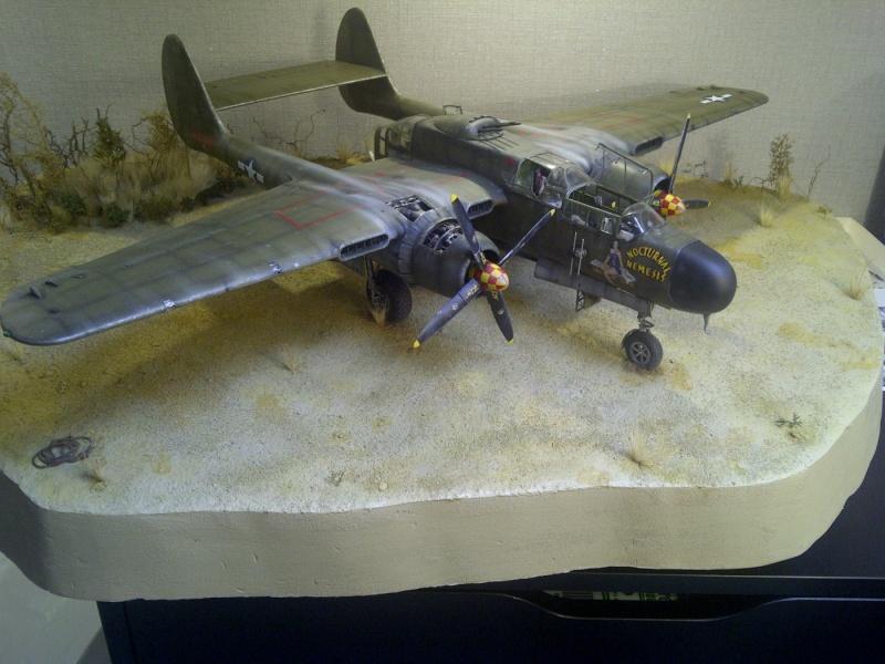 P-61  BLACK WIDOW / HOBBY BOSS 1/32 ( diorama ) - Page 2 Saint252