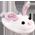 Lapin Angora / Lapin de Pâque / Lapin de Noël / Jéjé le Carotteur / Lapin Coloré / Lapin de Pâques Bleu / Lapin de Pâques Rose => Laine Angora Bunnys11