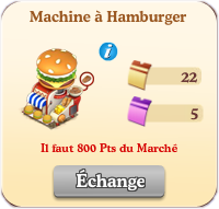 Machine à Hamburger Sans1076
