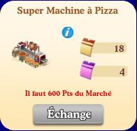Super machine à pizza  Sans1079