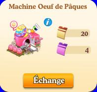 Machine à oeuf de Pâques Sans1087