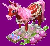 Licorne dentelle => Coeur Rose Sans_638