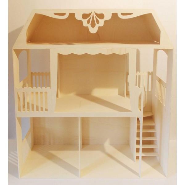 [Où Trouver] Maisons de poupées 1/6 ou 1/12 à personnaliser Maison10