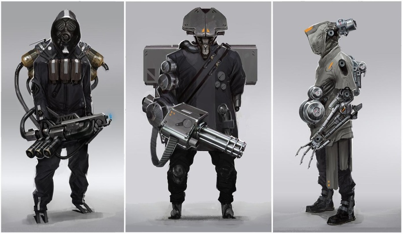 (Denis Simon)figurine science-fiction 2 Soldat10