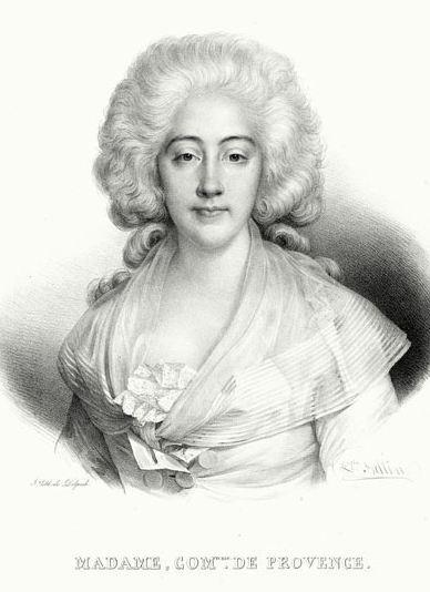 Marie-Joséphine de Savoie, comtesse de Provence Marie-10