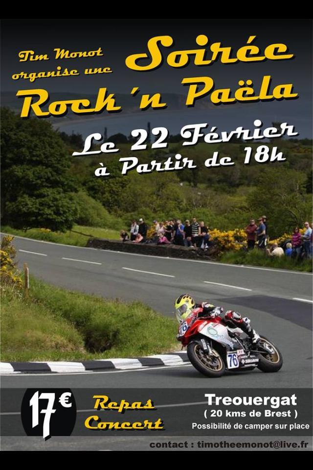 soirée paella rock et moto en bretagne 15262110